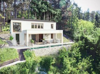 studie - Prodej chaty / chalupy 200 m², Hradištko