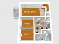 Prodej bytu 3+kk v osobním vlastnictví 75 m², Praha 9 - Letňany