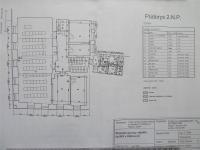 Půdorys 2NP (Pronájem komerčního objektu 20 m², Klatovy)