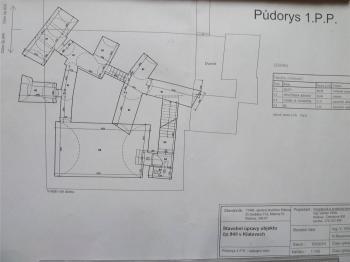 Půdorys 1PP  - Pronájem komerčního objektu 20 m², Klatovy