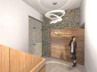 vstup do Rezidence (Prodej bytu 1+kk v osobním vlastnictví 43 m², Železná Ruda)