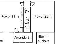 plán přízemí (Prodej bytu 4+kk v osobním vlastnictví 105 m², Plzeň)