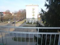 pohled z balkonu (Prodej bytu 2+kk v osobním vlastnictví 54 m², Plzeň)