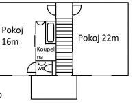 plán patro - Prodej domu v osobním vlastnictví 105 m², Plzeň