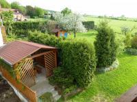 pohled z balkonu (Prodej domu v osobním vlastnictví 210 m², Dolní Lukavice)