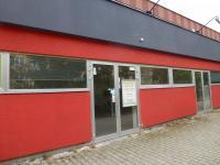 vstup do obchodu (Pronájem obchodních prostor 120 m², Plzeň)