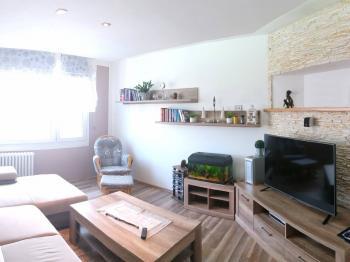 obývací pokoj - Prodej bytu 3+1 v osobním vlastnictví 79 m², Plzeň