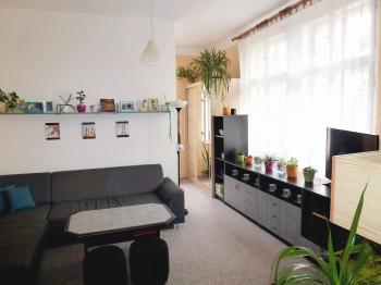pokoj 2 s částí na spaní - Prodej bytu 2+kk v osobním vlastnictví 55 m², Dobřany