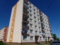 pohled na dům - Prodej bytu 3+1 v osobním vlastnictví 62 m², Plzeň