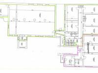 plánek - Pronájem kancelářských prostor 381 m², Plzeň