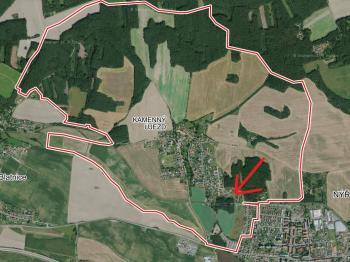 Prodej pozemku 1119 m², Vochov