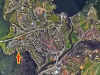 Brněnská přehrada v blízkosti (Prodej nájemního domu 420 m², Brno)