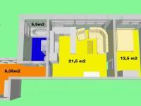 Pronájem bytu 2+kk 48 m², Pohořelice