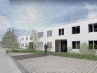 Pronájem bytu 1+kk v osobním vlastnictví, 29 m2, Uherské Hradiště