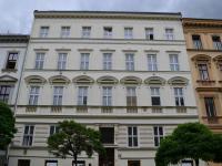 průčelí domu (Pronájem bytu 2+1 v osobním vlastnictví 62 m², Brno)