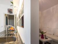 Praktické přepažení obývacího pokoje a jídelny s kuchyní (Prodej bytu 2+kk v družstevním vlastnictví 47 m², Brno)
