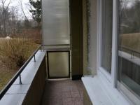 balkón (Pronájem bytu 1+1 v osobním vlastnictví 41 m², Brno)