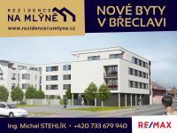 Prodej bytu 2+kk v osobním vlastnictví 54 m², Břeclav