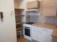 kuchyňský kout a spížka (Prodej bytu 1+kk v osobním vlastnictví 27 m², Brno)
