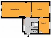 Prodej bytu 2+1 v osobním vlastnictví 58 m², Velké Opatovice