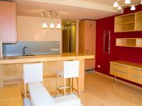 Včetně nábytku a vybavení (Prodej bytu 1+kk v osobním vlastnictví 32 m², Praha 9 - Vysočany)