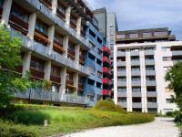 Vnitroblok (Prodej bytu 1+kk v osobním vlastnictví 32 m², Praha 9 - Vysočany)