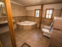 Koupelna v patře (Pronájem bytu 3+kk v osobním vlastnictví 140 m², Kovalovice)