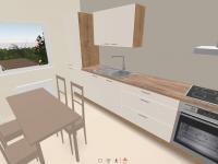 Možná vizualizace kuchyně - Prodej domu v osobním vlastnictví 100 m², Kroměříž
