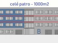 Pronájem kancelářských prostor 1044 m², Brno