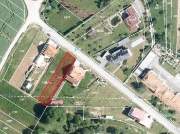 Stavební pozemek - Prodej pozemku 536 m², Ořechov