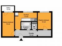 Prodej bytu 2+1 v osobním vlastnictví 50 m², Brno