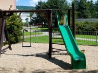 Dětské hřiště za domem - Prodej bytu 2+1 v osobním vlastnictví 51 m², Brno