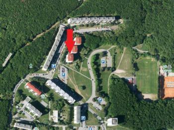 Umístění domu s přírodou na dosah - Prodej bytu 1+kk v osobním vlastnictví 30 m², Brno