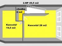 Prodej komerčního objektu (administrativní budova), 142 m2, Pohořelice