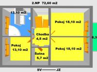 Prodej domu v osobním vlastnictví 266 m², Brno