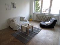 Obývací pokoj 17,8 m2 - Prodej bytu 3+1 v osobním vlastnictví 66 m², Brno