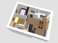 Půdorys - Pronájem domu v osobním vlastnictví 115 m², Olbramovice