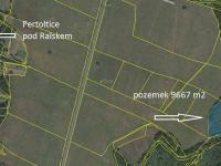Prodej pozemku 9667 m², Pertoltice pod Ralskem