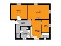 Prodej bytu 3+1 v osobním vlastnictví 210 m², Praha 9 - Čakovice