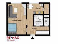 Prodej bytu 1+1 v osobním vlastnictví 36 m², Nymburk