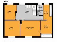 1. PATRO (Prodej domu v osobním vlastnictví 197 m², Sadská)