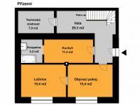 PŘÍZEMÍ (Prodej domu v osobním vlastnictví 197 m², Sadská)