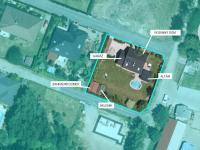 POHLED NA POZEMEK - Prodej domu v osobním vlastnictví 140 m², Hradištko