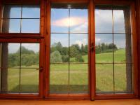 výhled z okna obývacího pokoje (Prodej domu v osobním vlastnictví 273 m², Český Těšín)