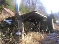 Posezení s ohništěm a sklad  nařadí (Prodej chaty / chalupy 20 m², Mikulovice)