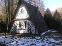 Chata od příjezdu (Prodej chaty / chalupy 20 m², Mikulovice)
