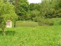 Pohled na rybník (Prodej pozemku 3757 m², Mikulovice)
