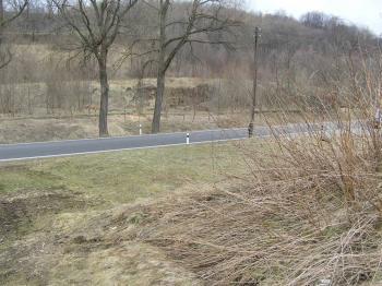 Pohled shora - Prodej pozemku 762 m², Jeseník