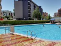 druhý bazén (Prodej bytu 1+kk v osobním vlastnictví 39 m², Nessebar)