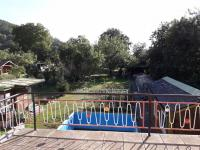 pohled z terasy ve II.NP do zahrady (Prodej domu v osobním vlastnictví 250 m², Dolní Studénky)